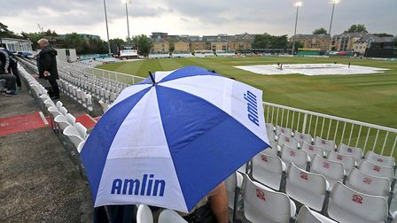 Rain prevented any play on day two of the County Championship clash between Essex and Middlesex at C