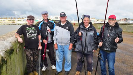 Lowestoft South Pier has re-opened after being closed for two years. Fishermen celebrate the good n