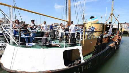 The exhibition is being held in the Lowestoft Maritime Museum.