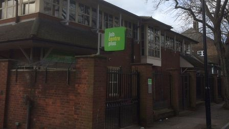The victim is believed to work in Canning Town Jobcentre. Picture: Ken Mears