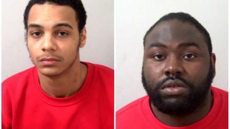 Troy Lewis and Nathan Sylvester have been given life sentences for the murder of Nico Ramsay. Pictur