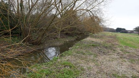 In the mid-19th century much of the sewage produced in Romford ended up in the River Rom. Picture: K