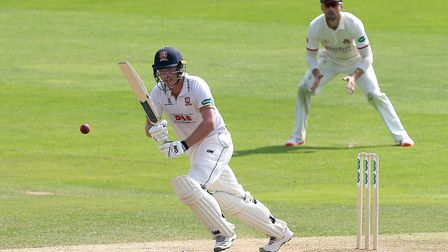 Tom Westley in batting action for Essex at The Cloudfm County Ground (pic Gavin Ellis/TGS Photo)