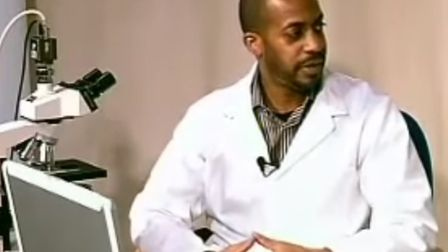 A still from a 2011 video interview with Errol Denton on his livebloodtest YouTube channel. Photo: Y