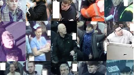 Police are appealing for information to idenitfy these men. Picture: Met Police.