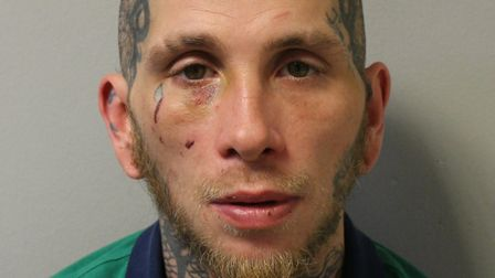 Nathan Gunes has been jailed for eight years. Picture: Met Police