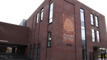 Plashet School faces losing almost �1m in funding. Pic: Ken Mears