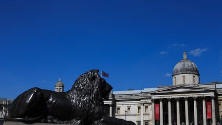 The National Gallery in Trafalgar Square, has a picture with a Havering connection. Picture: PA