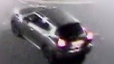 Police are keen to chase the driver of this Nissan Juke. Picture: Met Police.