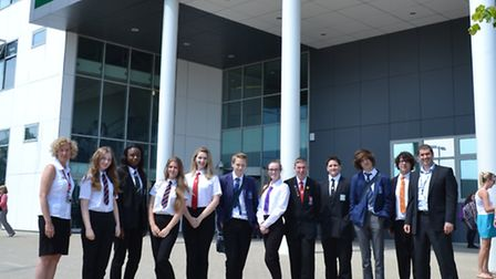 Applied Maths Day at Lowestoft Sixth Form College.