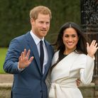 Prince Harry and Meghan Markle. Picture: Dominic Lipinski/PA Wire