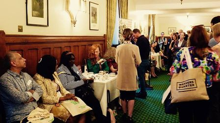 The reception was held at the House of Commons. Picture: Eastside Community Heritage