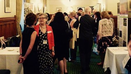 The twentieth birthday celebration at the House of Commons. Picture: Eastside Community Heritage