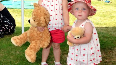 Broadland Teddies. Daisy and Hollie Casson. Pictures: MICK HOWES