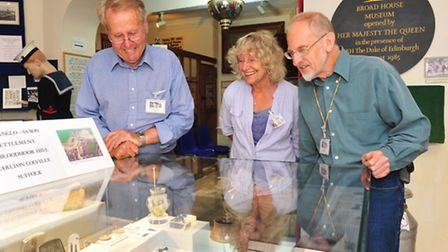 Lowestoft museum have been loaned a tiny silver figurine from the Anglo Saxon period by the British