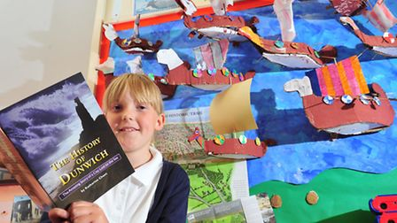 Youngsters from Blundeston primary school have been learning about the history of Dunwich.Daisy Reid