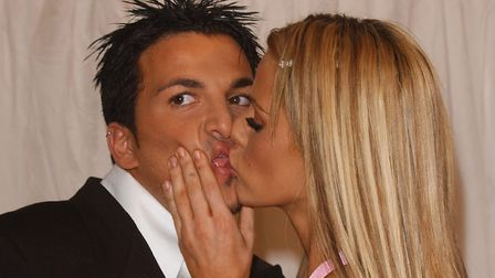 Peter Andre and Katie Price coupled on I�m A Celebrity... (Photo by David Westing/Getty Images)