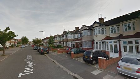 Firefighters were called to reports of a fire at a terraced home on Torquay Gardens at 2.15am today.