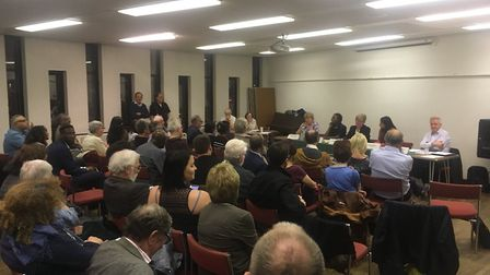 More than 100 people were at the local election hustings hosted by Barkingside 21.