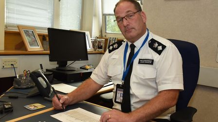 Chief Superintendent Jason Gwillim said it is safe to live and work in East London despite the repor