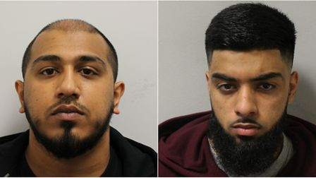 Emdadul Islam (left) and Yasin Patel. Pictures: Met Police