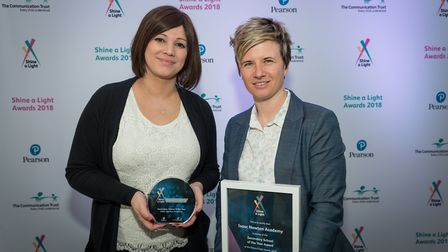 Georgina May, Marketing and communications manager (left) and Leanne Abbott-Jones, Assistant princip