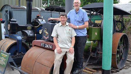 Ken and Bernie Ward. Pictures: Mick Howes