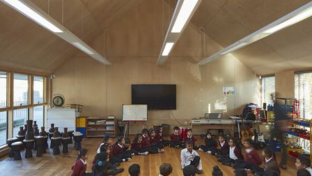 A classroom in the new nursery building. Picture: Dennis Gilbert/VIEW