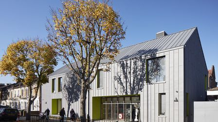 The outside of the new nursery building in Sandringham Road. Picture: Dennis Gilbert/VIEW