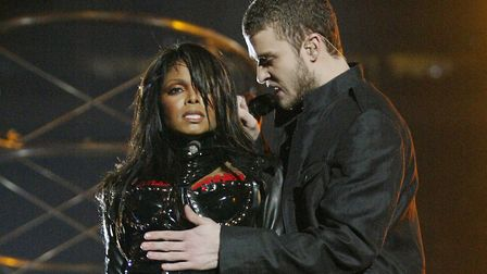 Janet Jackson and Justin Timberlake suffered a wardrobe malfunction during the half-time show at Sup