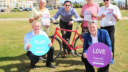 Lowestoft Summer Festival organisers putting together final preparations for next month's event.Jaso