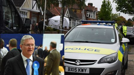 Romford MP Andrew Rosindell has spoken out following the murder of 85-year-old Rosina Coleman.