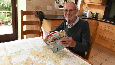 John Davies who has written a book about some hidden Soviet maps of the world he discovered when he