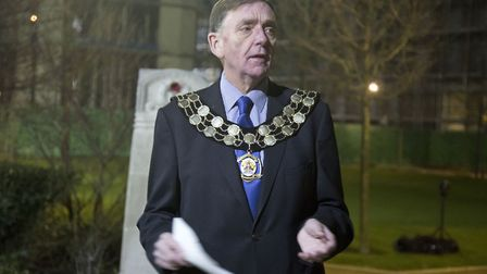 Sir Robin Wales was the mayor for 16 years. Picture by Ellie Hoskins