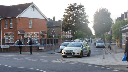 Police and paramedics were called to reports of a man stabbed multiple times in Wanstead Park Avenue
