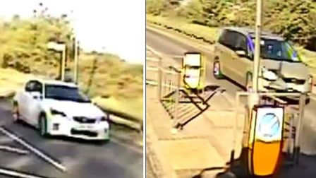 Essex Police would like to trace the drivers of these cars Picture: Essex Police