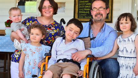 £50,000 fund-raising campaign being launched for a little boy with the serious Duchenne Muscular Dys
