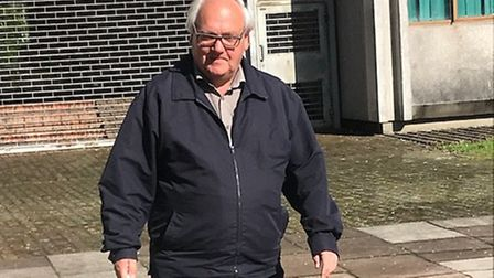 Brown from Barkingside was given a 12 month community order and fined �85 after pleading guilty to s