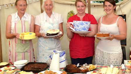 Somerleyton fete 'Mad Hatters Tea Party'- Refreshments team