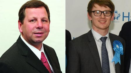 Cllr Jeffrey Tucker and Cllr Damian White have both put forward their names as the potential next le