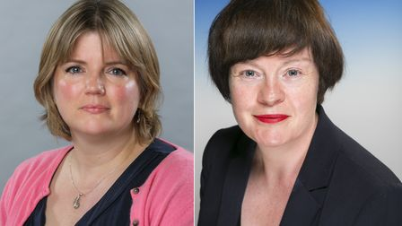 Councillors Rachel Tripp and Susan Masters. Picture: Newham Council