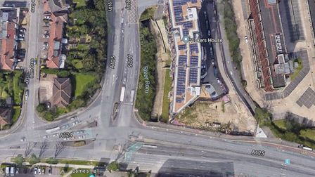 The Roneo factory opened in 1907 and has since given its name to Roneo Corner. Photo: Google Maps