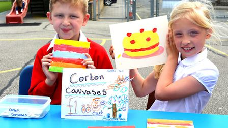 Corton Primary Enterprise Cafe. Pictures: MICK HOWES
