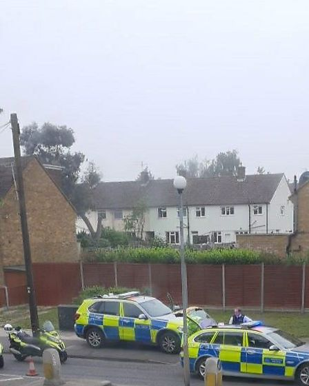 A man in his 20s was arrested on suspicion of drug driving in Harold Hill this morning.