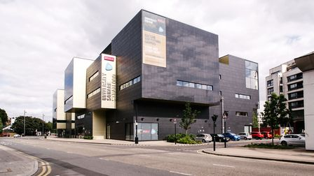 The University of East London's Stratford campus. Picture: UEL