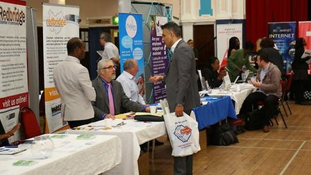 Redbridge Means Business is apparently the borough's biggest ever business networking event at Redbr