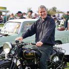Fr Robert Hampson was a keen motorcyclist. Photo: Ros Southern