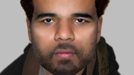 Police have released an e-fit of a man they wish to identify in connection with a stabbing which too