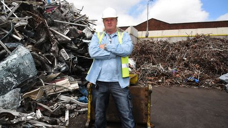 Alan Gowing said he was wrongfully arrested at his scrap dealer business in Upminster in 2012