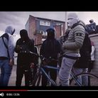 This screen-shot is taken from a drill video on YouTube, filmed in Forest Gate, that glorifies gun a